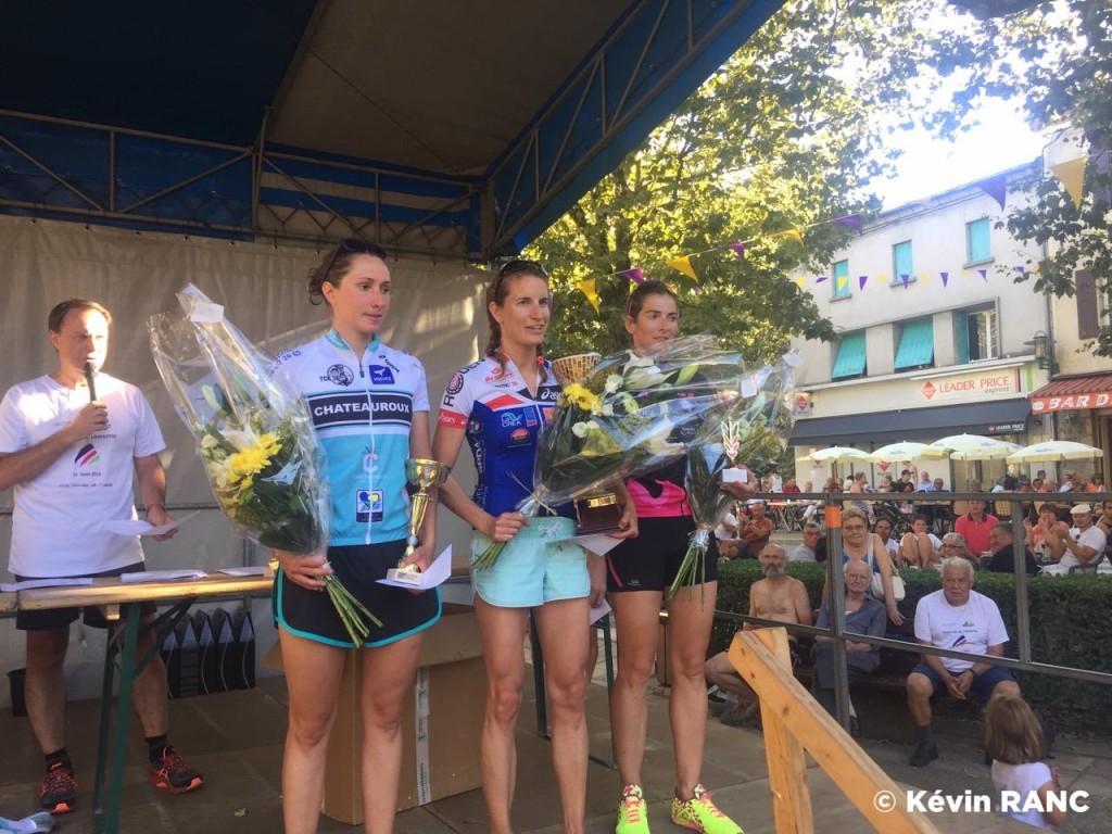 triathlon lamastre 2016 podium filles