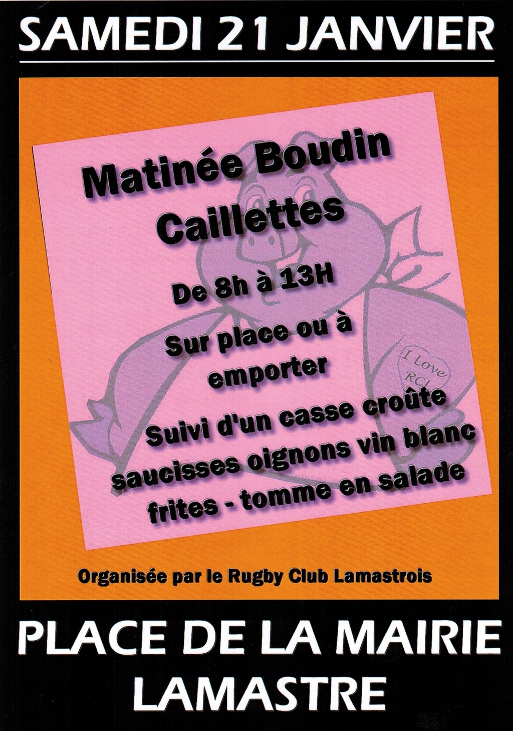 boudin caillette rugby lamastre 2017