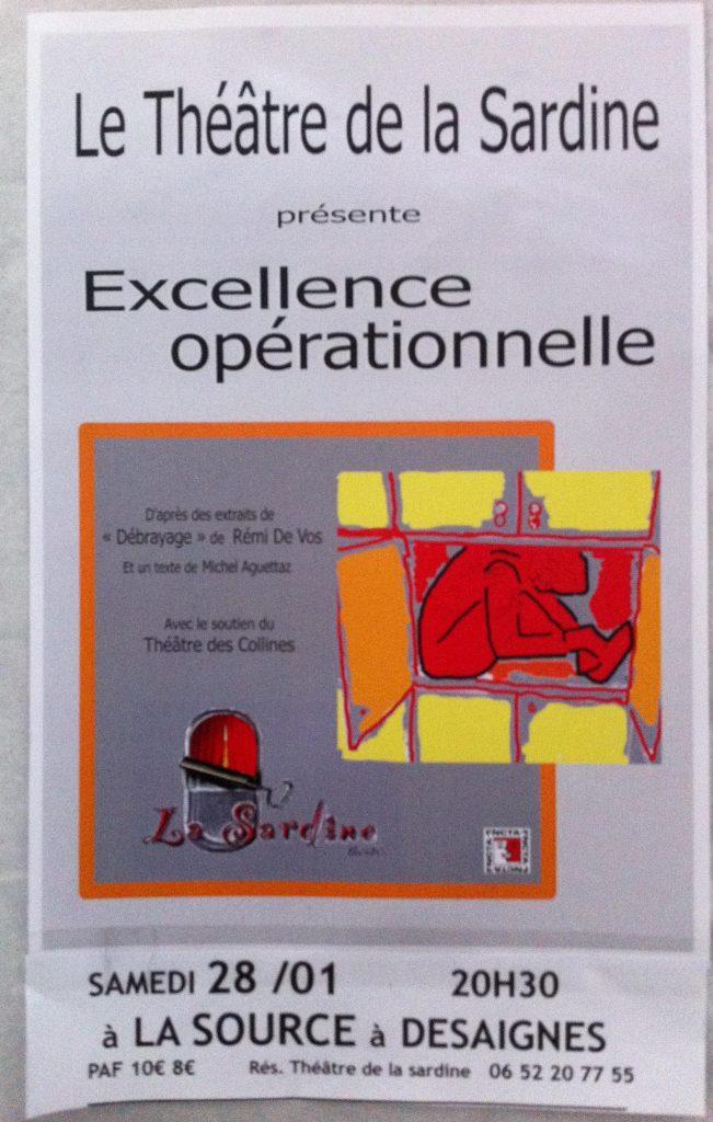 excellence opérationnelle sardine desaignes