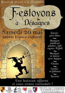 festoyons à desaignes medievale