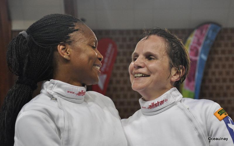 CAROLINE BOUQUET ET LAURA FLASSEL , ministre des sports 2017