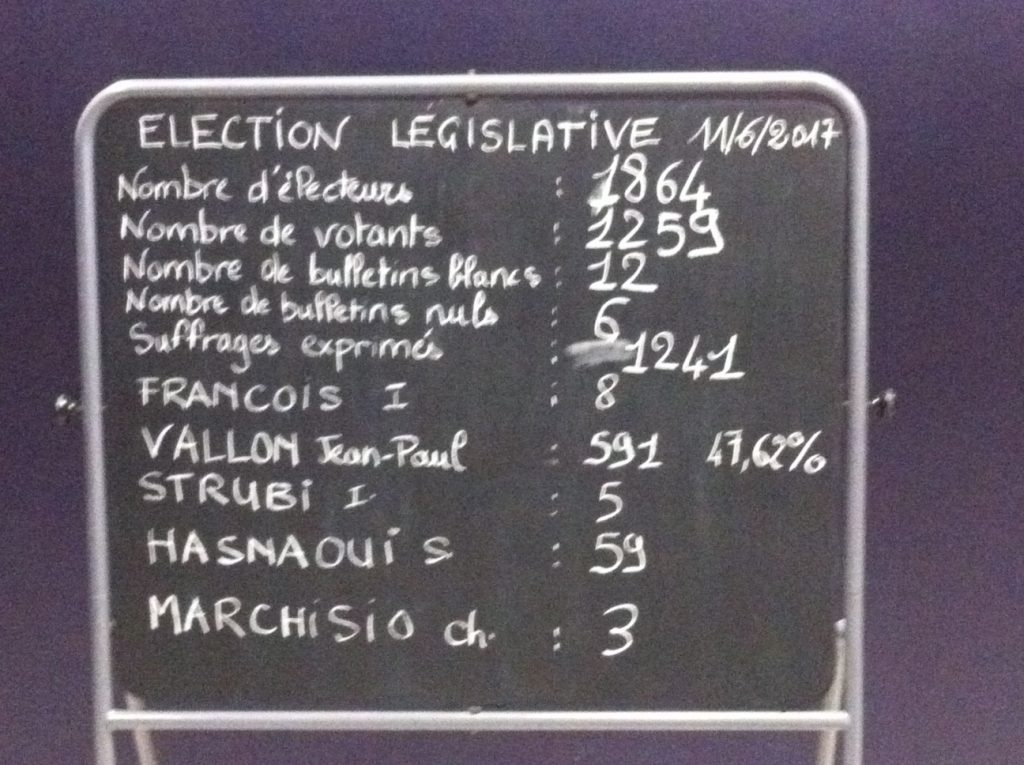 ELECTIONS LEGISLATIVES LAMASTRE 1