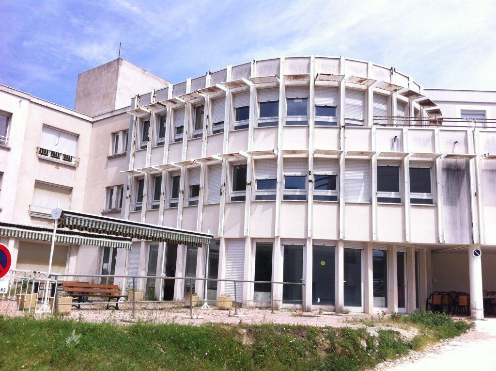 salles panoramique EHPAD lamastre entrée