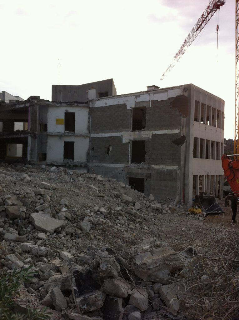 demolition EHPAD lamastre