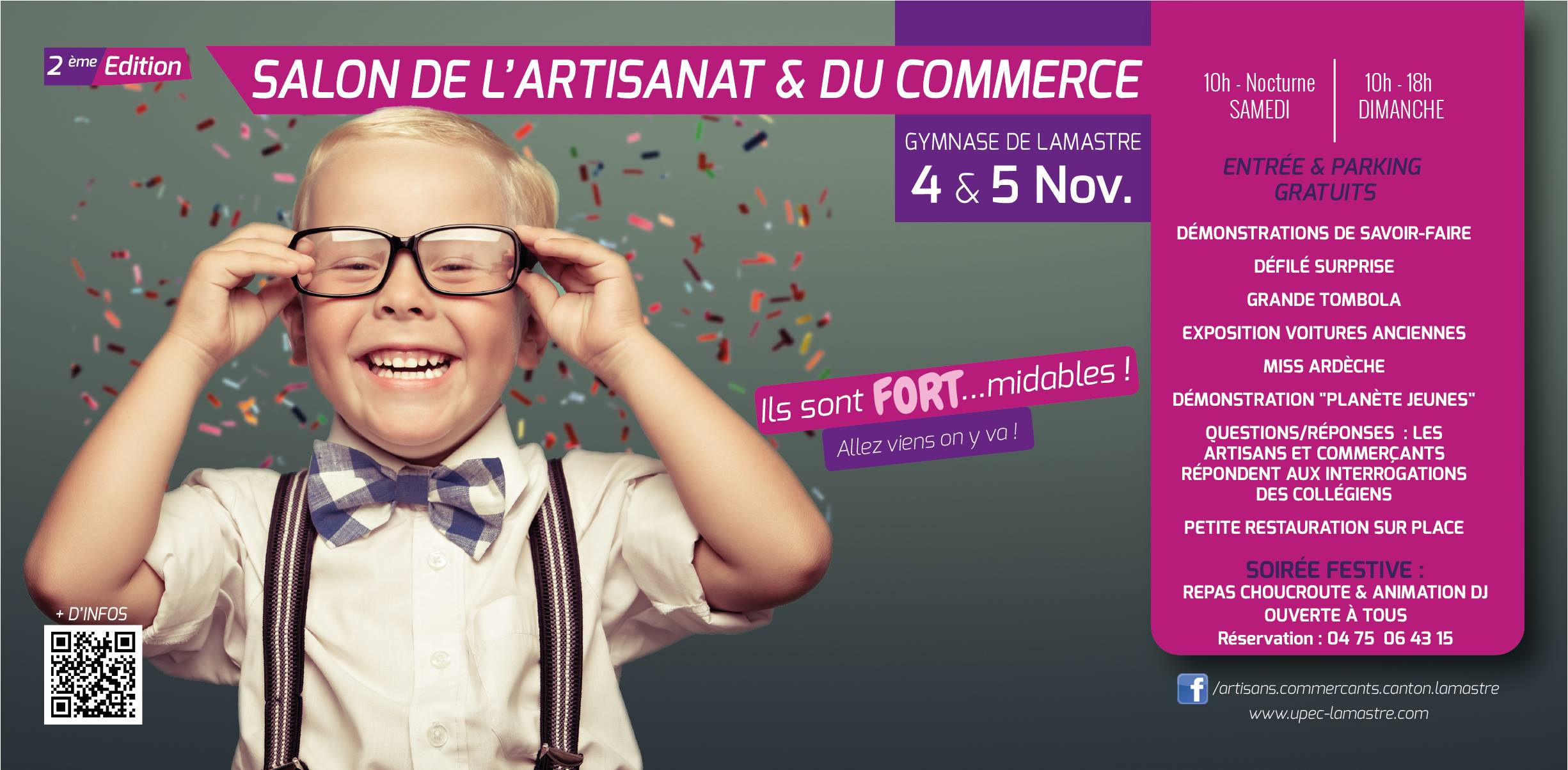 salon artisant commerce lamastre 2017