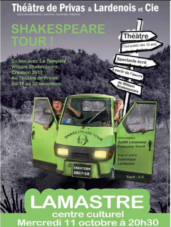 shakespeare tour lamastre