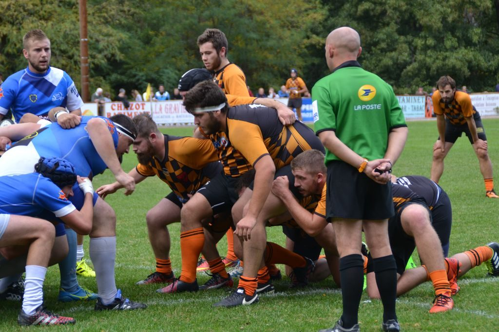 rugby lamastre annonay mélée