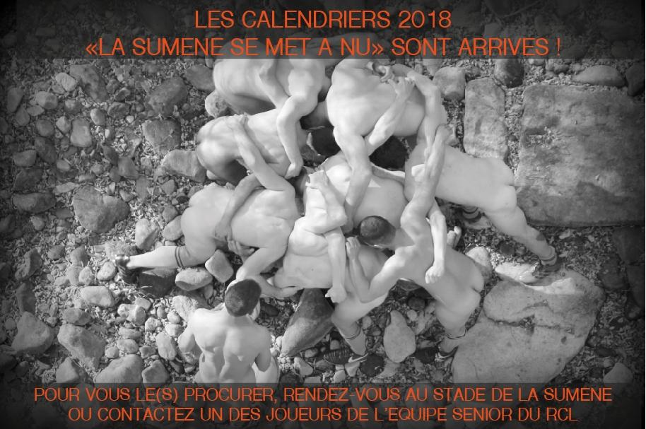 Ccalendriers 2018 SUMENE A NU