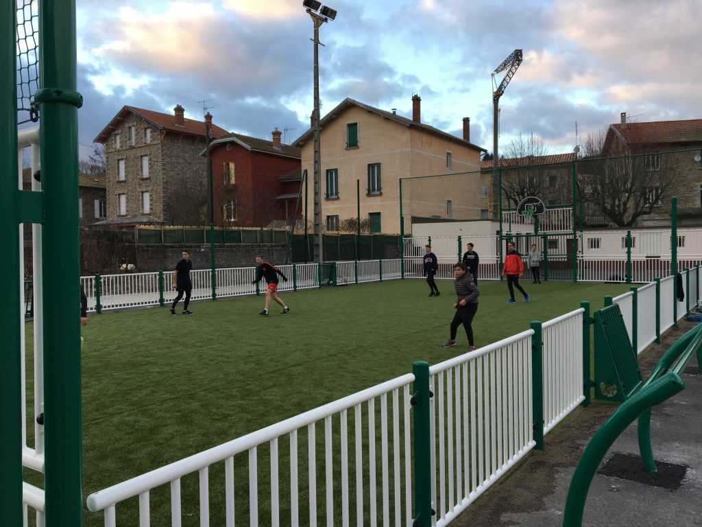 foot ado city park lamastre