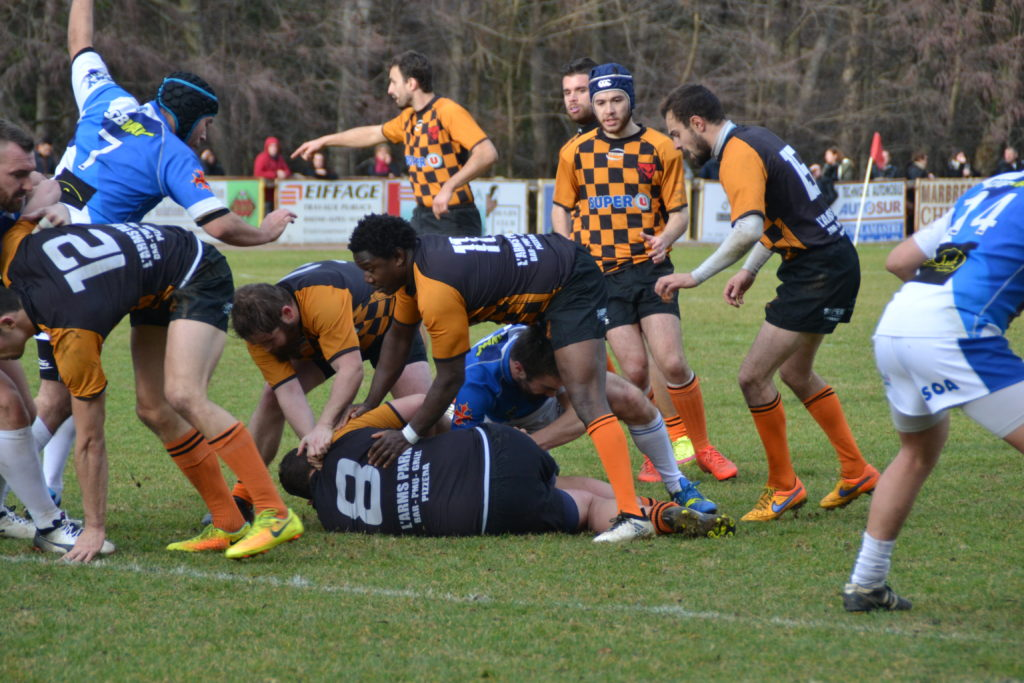 lamastre S O Annonay rugby maul 2018