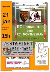 rugby lamastre montmeyran 2018