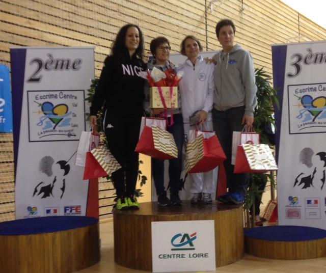 Escrime Bourges le circuit national élite de Sabre M20 et Vétérans