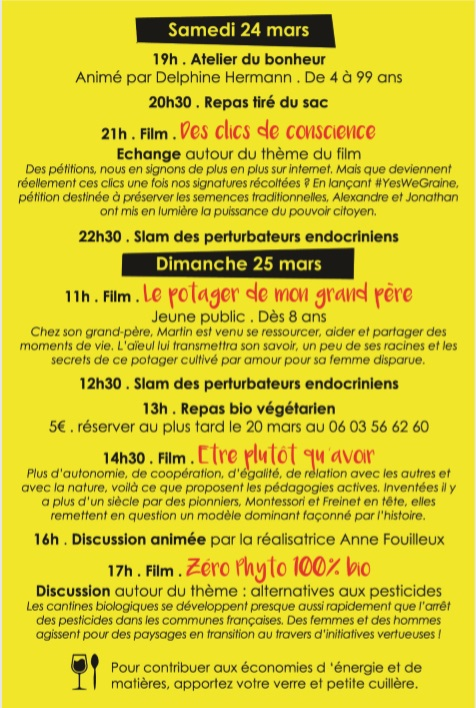 programme festilm lamastre