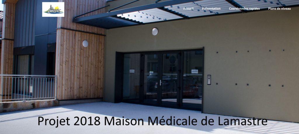 projet 2018 maison médicale de lamastre