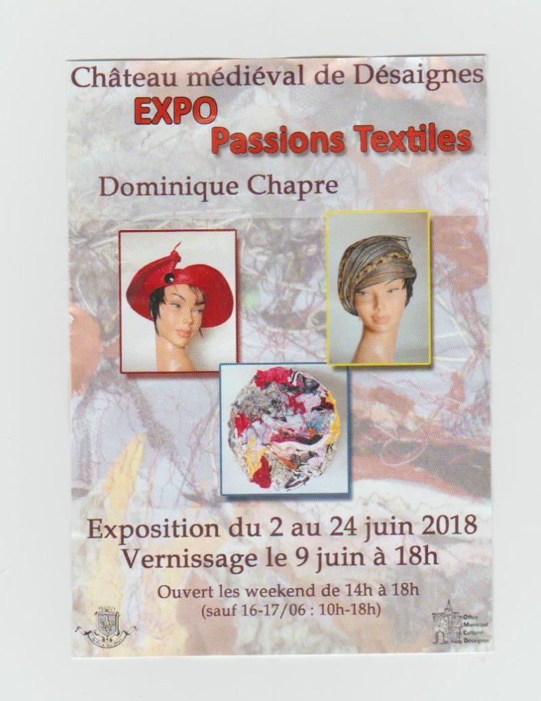 desaignes expo tissus 2018