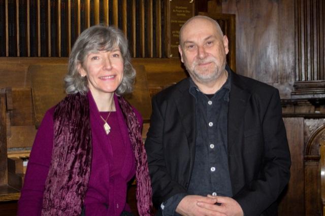Elisabeth de Mestral et Laurent Jouvet