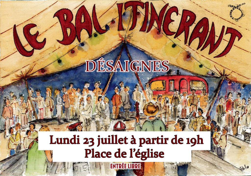bal itinerant OMC Desaignes