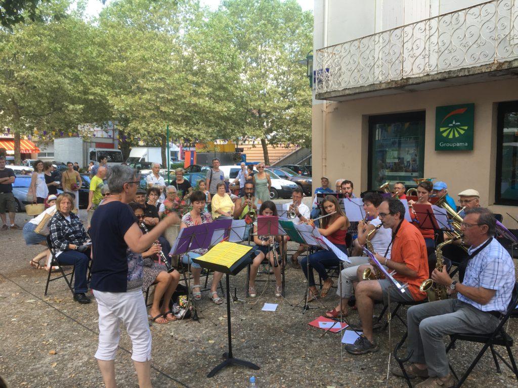 concert fanfare lamastre juillet 18