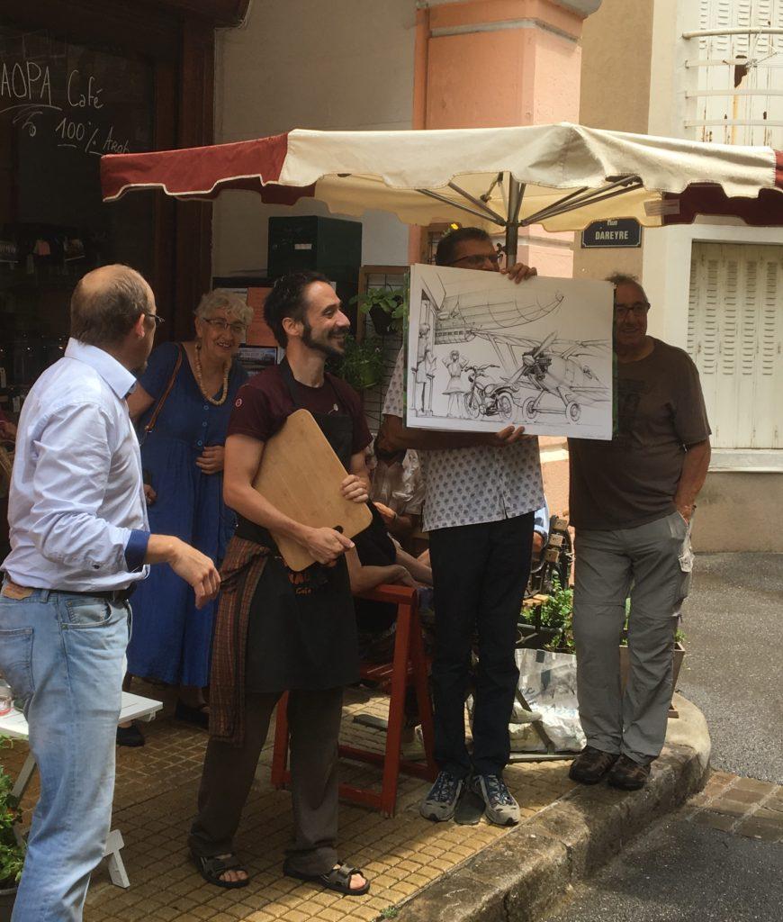 vente criée artistes kaopa lamastre shaik