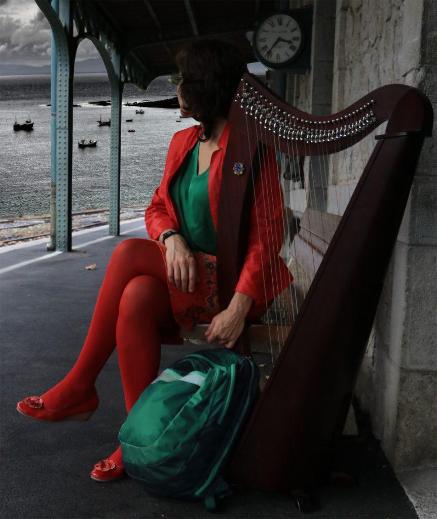 harpiste Roxane Martin