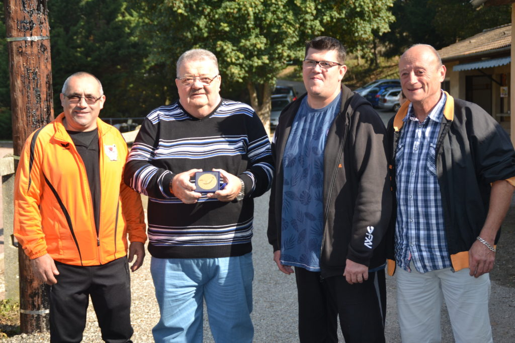 MEDAILLE RUGBY GILBERT TALLAS LAMASTRE
