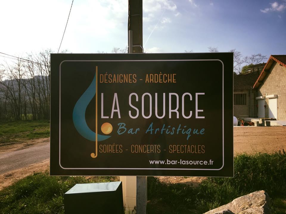pancarte la source