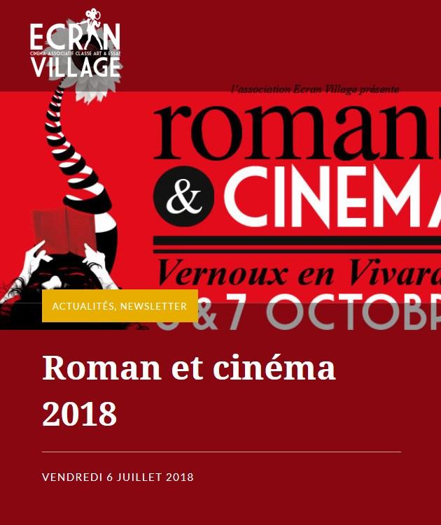 roman et cinéma vernoux lamastre