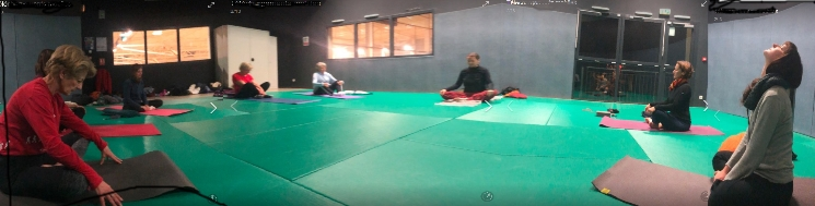 yoga lamastre gymnase salle ronde