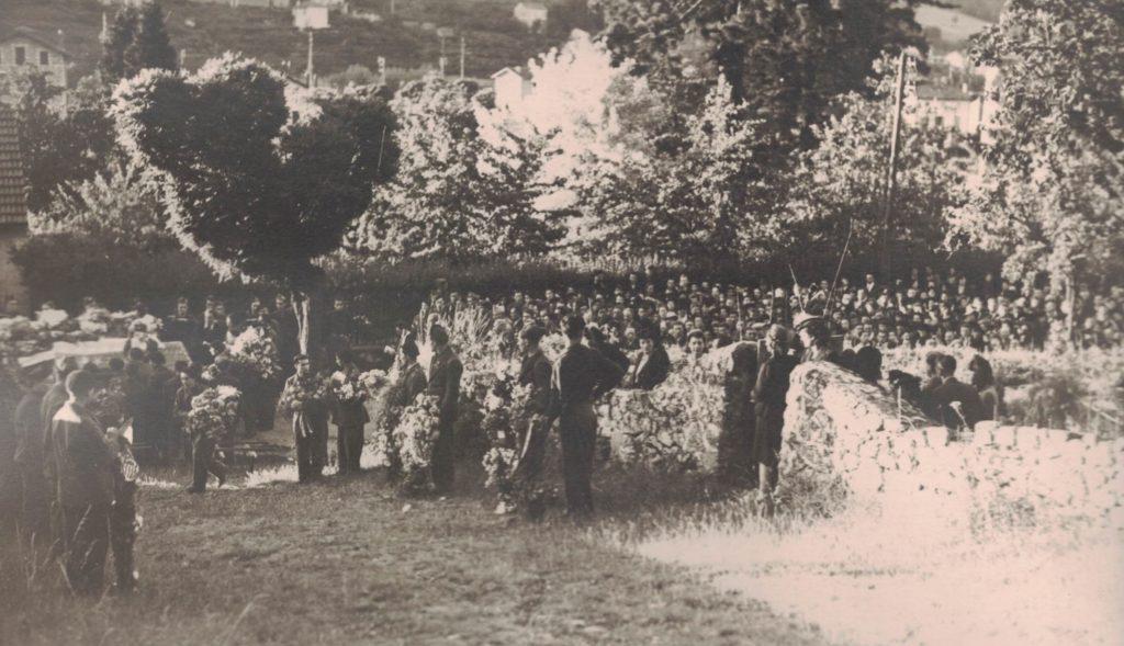 enterrement cimetière dévieres résistance f