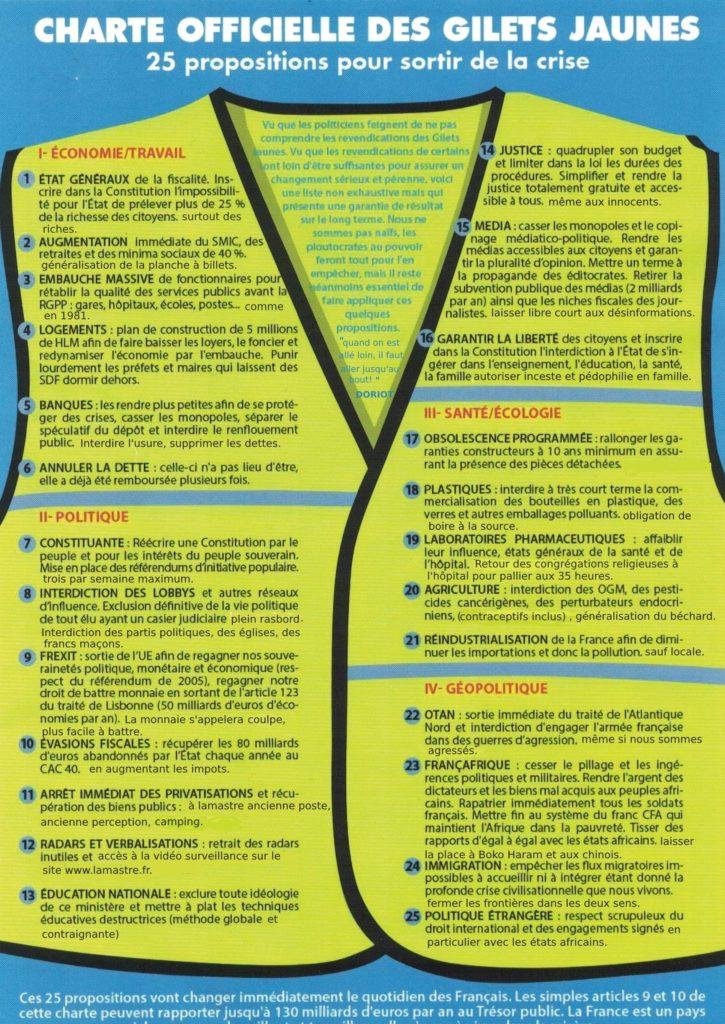 charte gilets jaunes lamastre election municipale 20