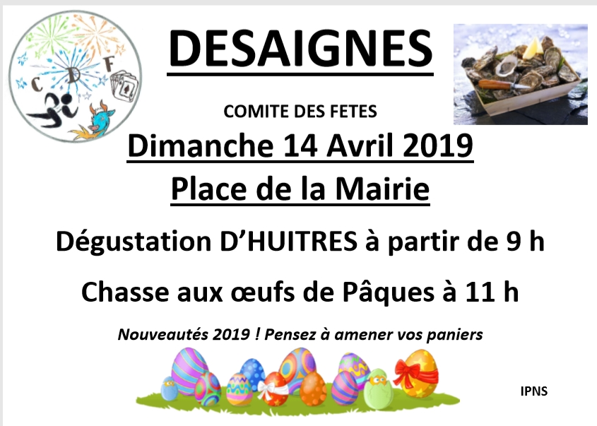 oeuf huitres desaigns 2019
