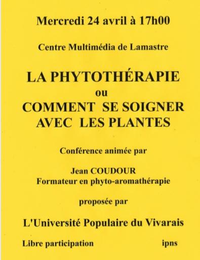 phytotherapie UTL LAMASTRE