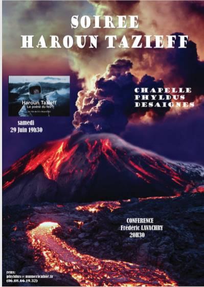 HAROUN TAZIEFF DEASIGNES PHYLDUS