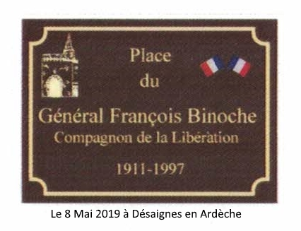 place Binoche inauguration 8 mai