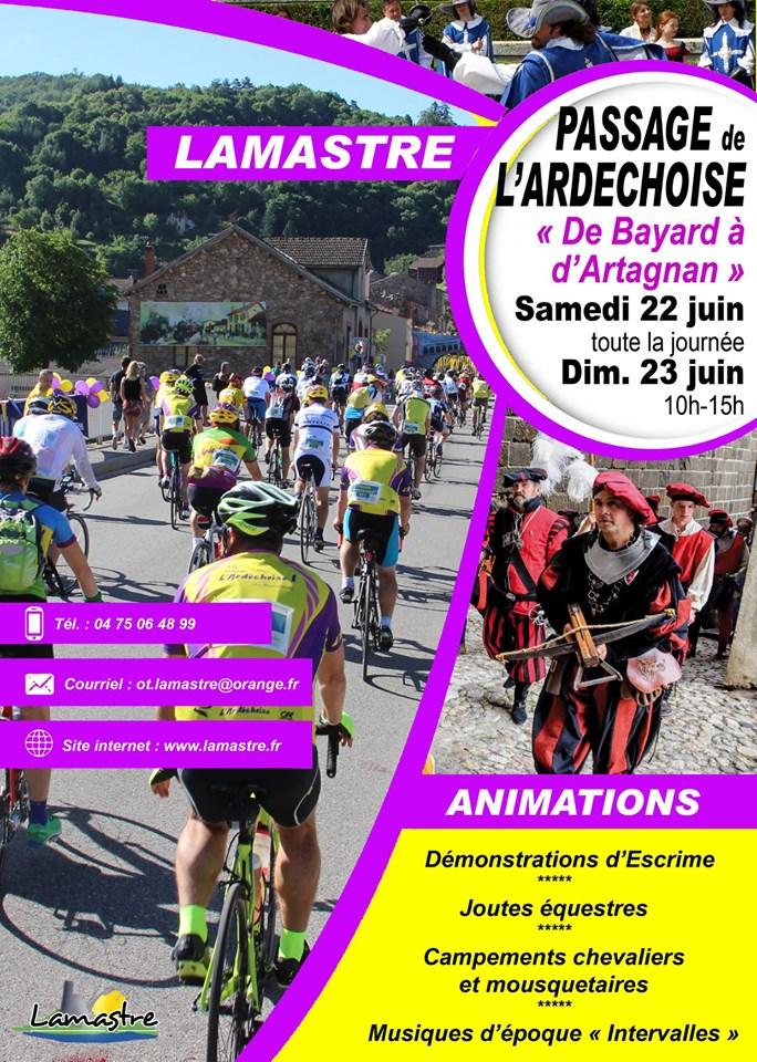 PASSAGE ARDECHOISE LAMASTRE 2019