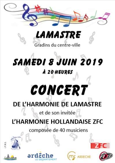 concert fanfare + hollandais