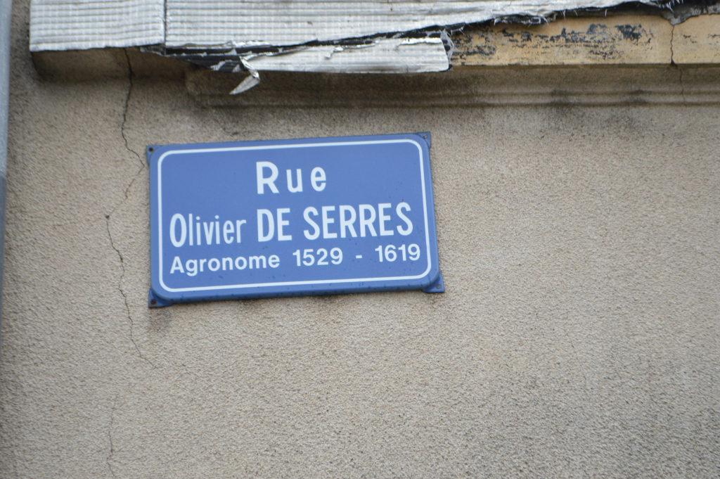 OLIVIER DE SERRES LAMASTRE RUE