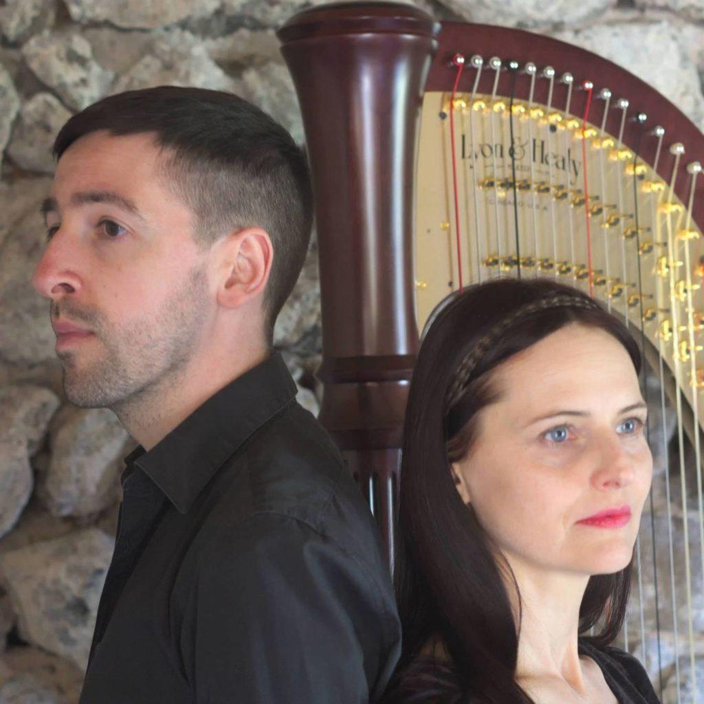 duos harpe 'Anda Peléka, soprano et Anthony Castin, harpe desaignes