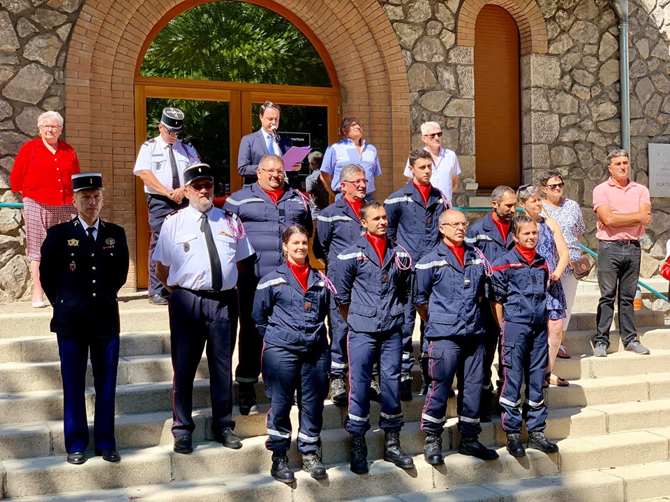 pompier 14 jullet 19 lamastre