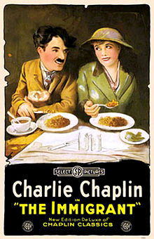 Charlie chaplin _The_Immigrant lamastre