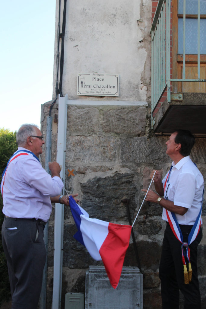 inauguration Chazallon bard vallon