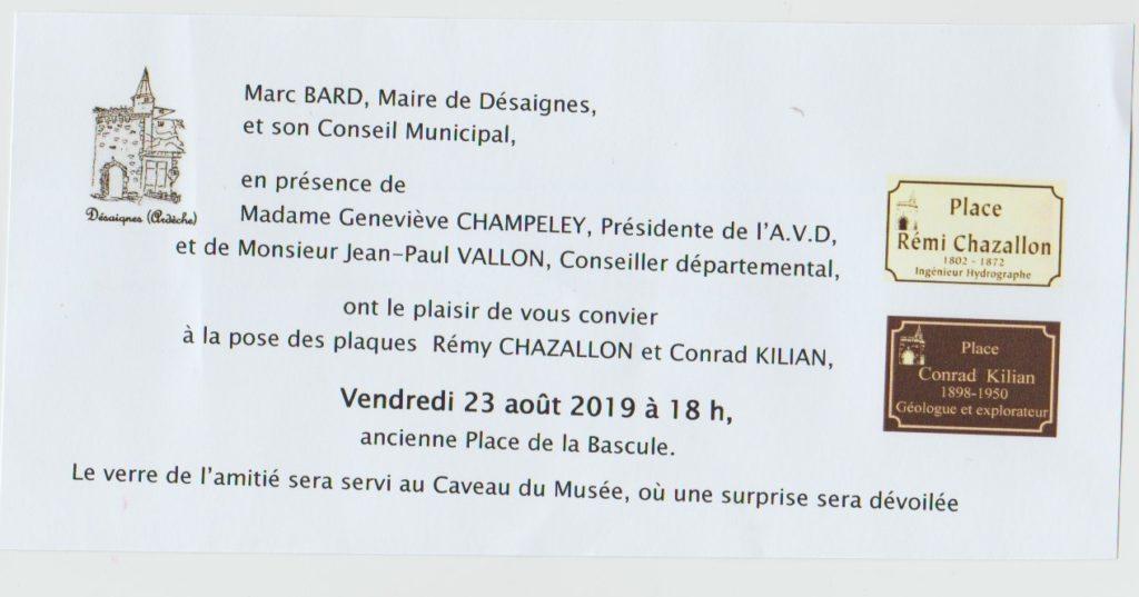 places desaignes chazallon kilian inauguration