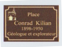 plaque place conrad Kilian