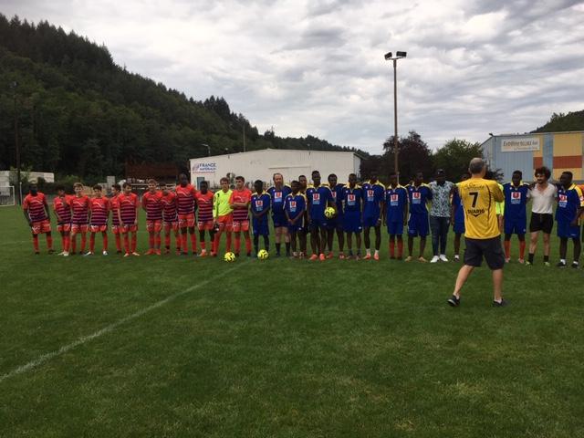 foot équipes lamastre migrant