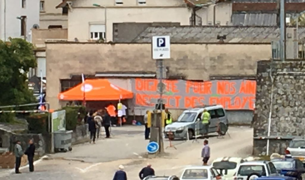 stand CFDT foire lamastre