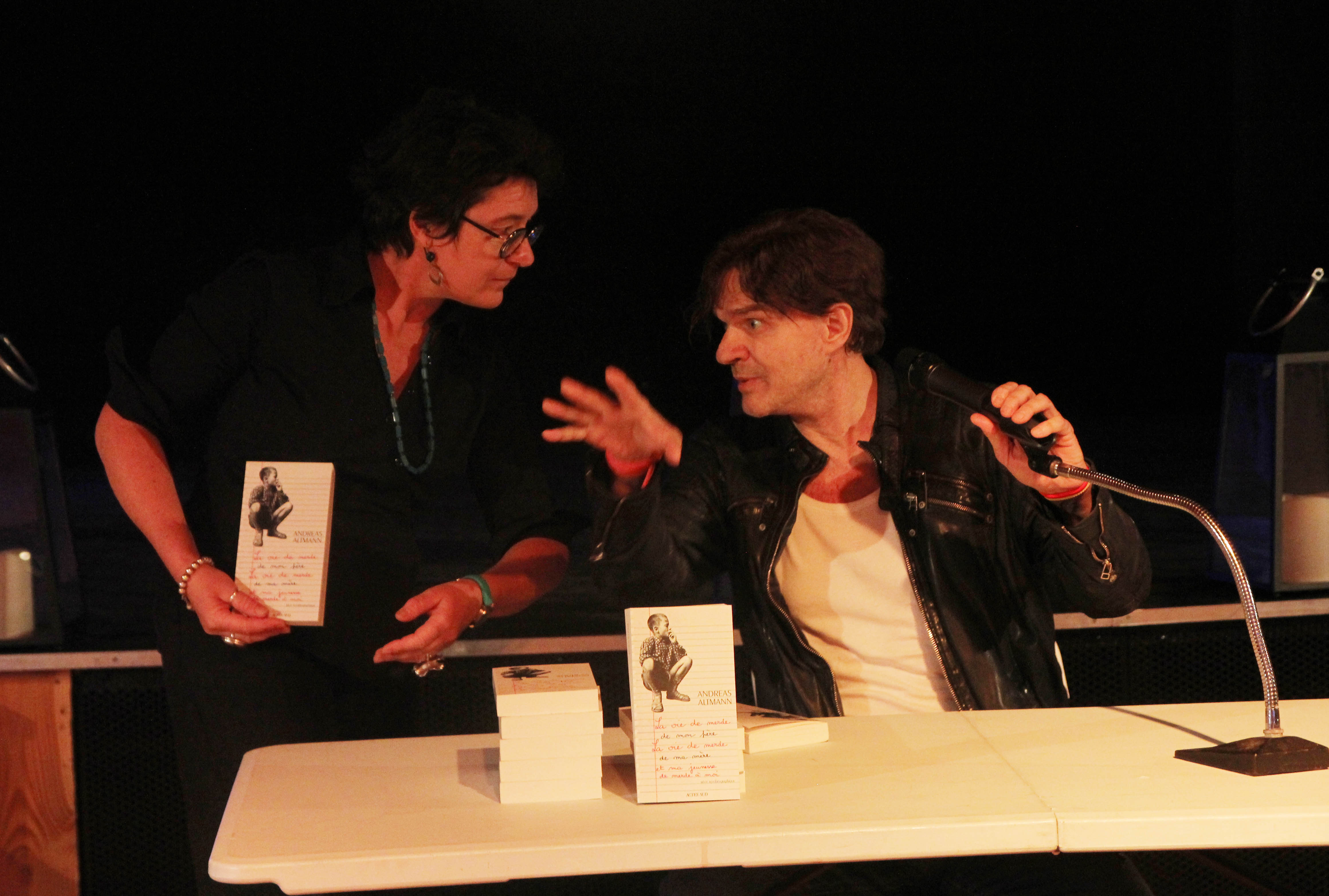 Rencontre littéraire Altman ARBRE à FEUILLE Myriam Bert