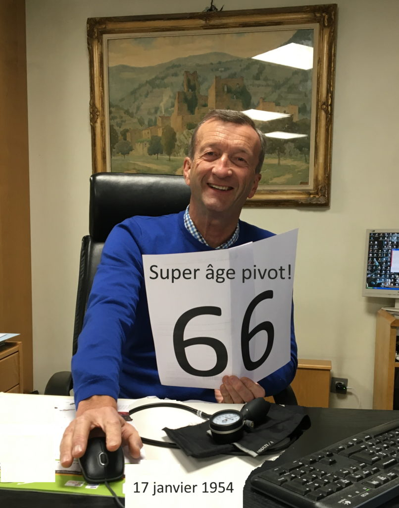age pivot 66 ans