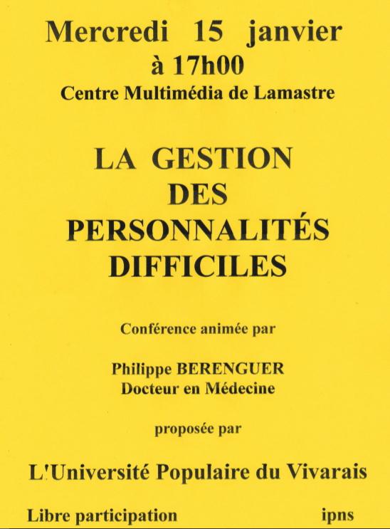 psychiatrie lamastre UPV