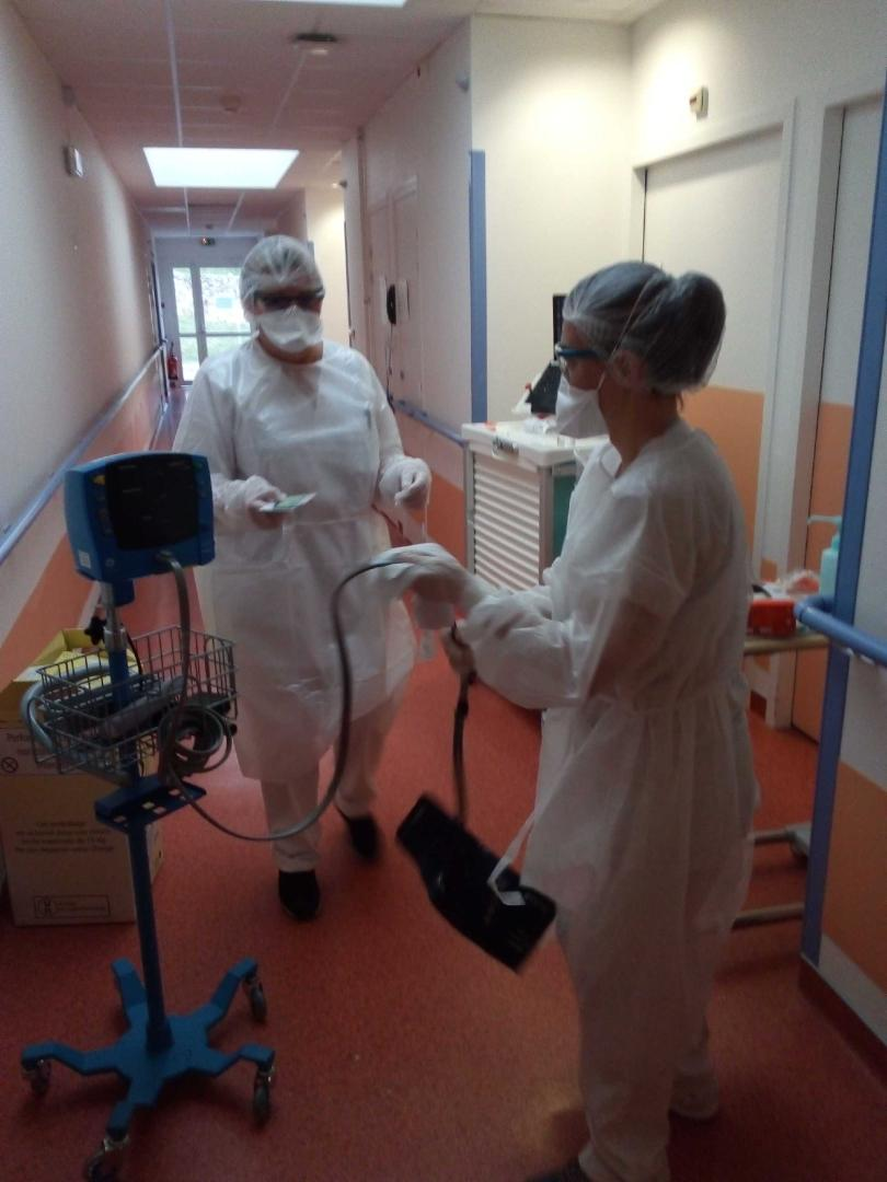 personnel soignant covid lamastre