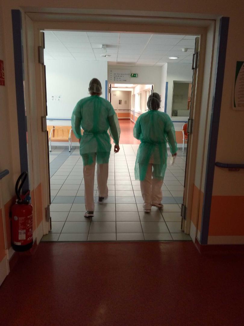 personnel soignantsecteur covid hopital lamastre